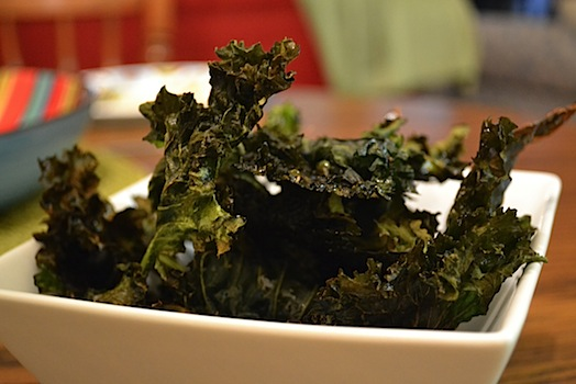 Kale Chips Ready to Eat
