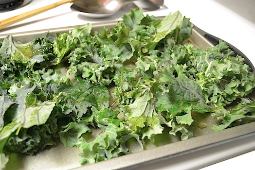Kale Chips3 PreOven